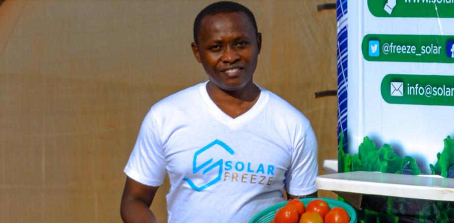 Dysmus Kisilu, founder of Solar Freeze