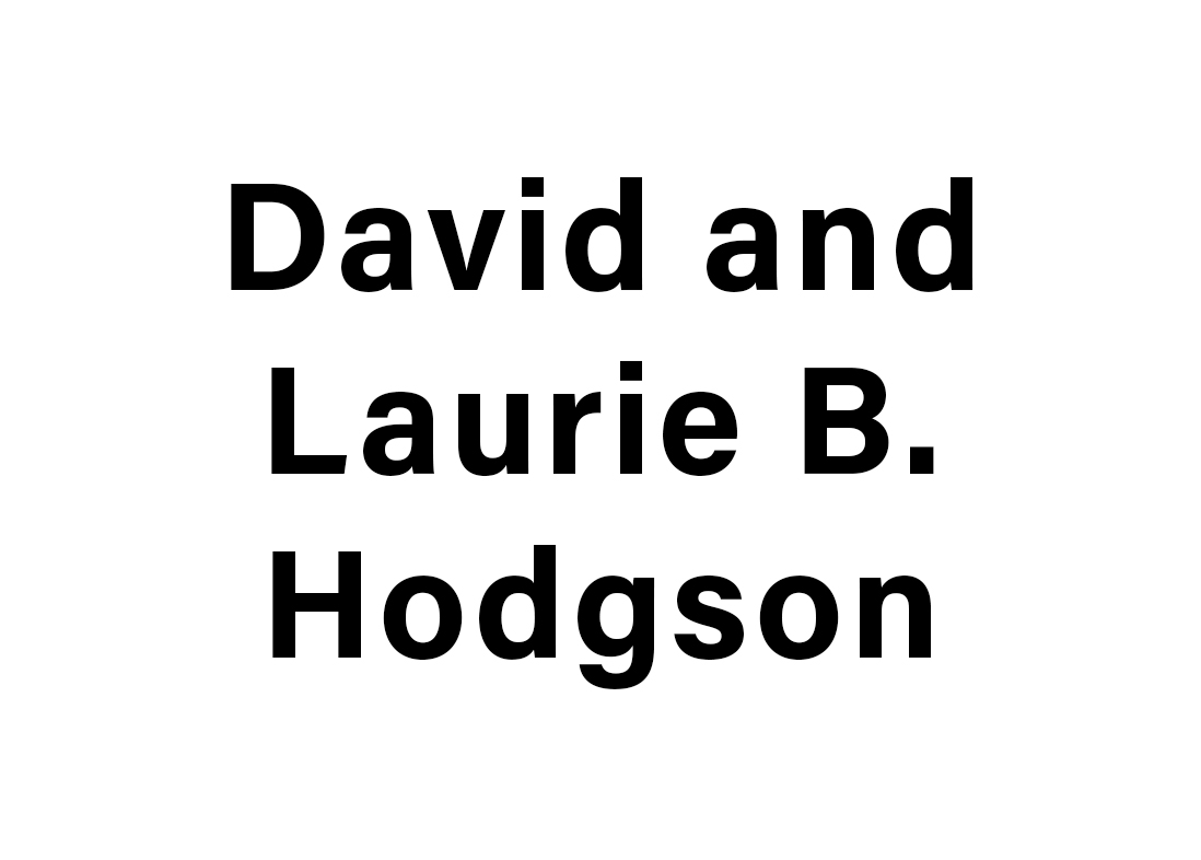 David and Laurie B. Hodgson logo